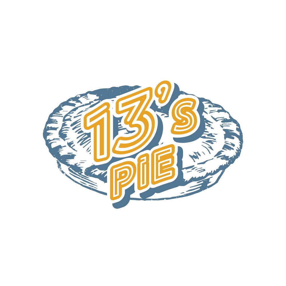13's pie logo